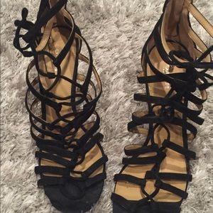 Coach lace up sandals
